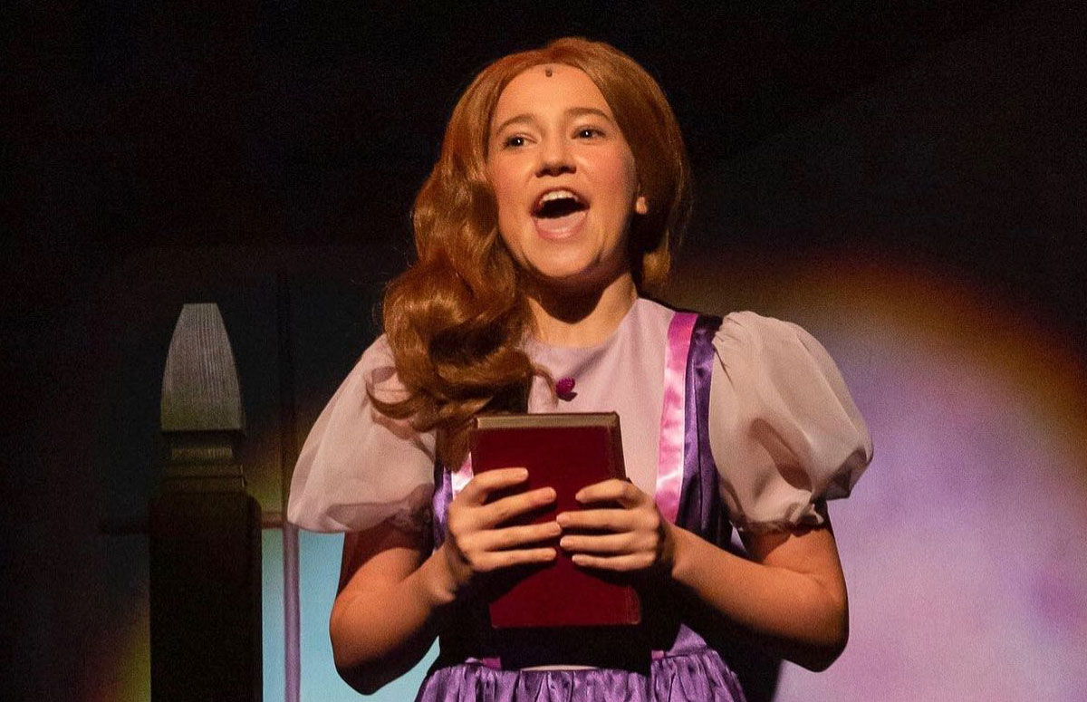 Teen Fiona in Shrek Jr